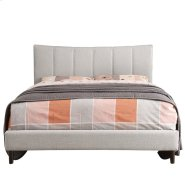 """Rimo 54"""" Bed in Beige Product Image"""