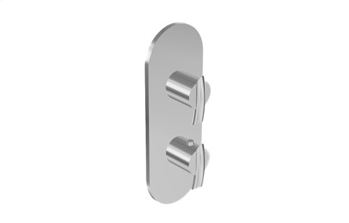 Tranquility M-Series Valve Trim with Two Handles