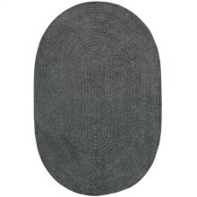 Charcoal Chenille Creations Oval