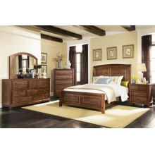Laughton Rustic Brown California King Five-piece Set