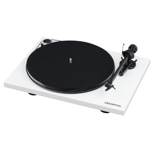 White- Go from spinning to streaming with these essentials. Includes Sonos Play:5, Pro-Ject Essential III Phono, and adapter cable.