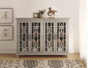 Anthology Meghan Silver 4-Door Chest Product Image