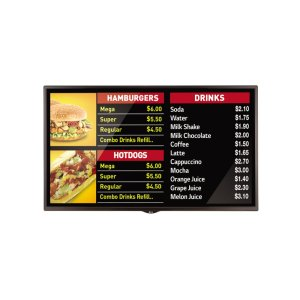 """LG Appliances55"""" Standard Performance Signage with webOS 3.0"""
