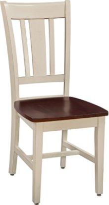San Remo Chair Espresso & Almond