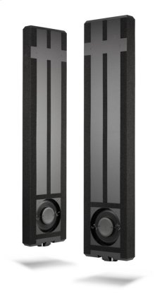 Dual 8-inch (200 mm) In-Wall Powered Subwoofer System