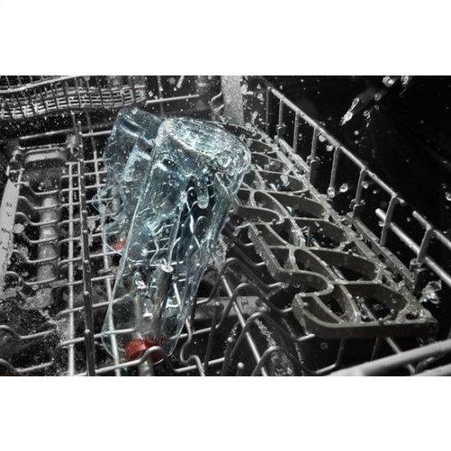 KitchenAid® 46 DBA Dishwasher with Third Level Rack, Bottle Wash and PrintShield™ Finish - PrintShield Stainless