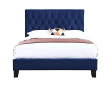 Emerald Home Amelia Upholstered Bed Kit Twin Navy B128-08hbfbr-14