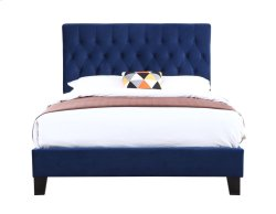 Emerald Home Amelia Upholstered Bed Kit Twin Navy B128-08hbfbr-14 Product Image