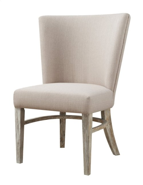 Emerald Home Synchrony Dine Chair W/upholstered Seat & Back Pearl D112-22