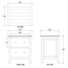 Aries Nightstand Cabinet