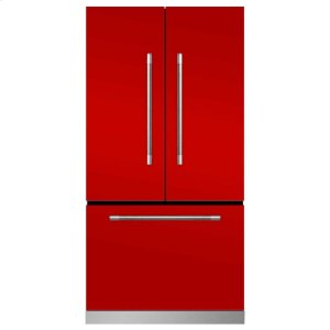 MarvelMarvel Mercury French Door Counter-Depth Refrigerator - Marvel Mercury French Door Refrigerator - Scarlet (limited availability)