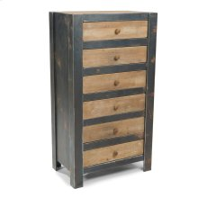 Bolt 6 Drawer Dresser Natural