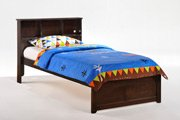 Butterscotch Bed in Dark Chocolate Finish Product Image