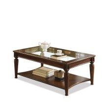 Yorktown Coffee Table Vintage Cherry finish-Floor Sample-**DISCONTINUED**