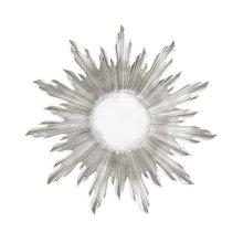 Small Silver Sunburst Mirror