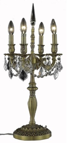 9204 Rosalia Collection Table Lamp French Gold Finish