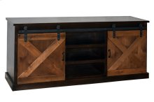 "Farmhouse 66"" Two-Tone Console"