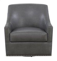Emerald Home Patricia Swivel Chair Charcoal U3290-04-13