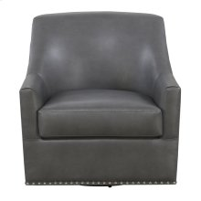 Emerald Home Patricia Swivel Chair Charcoal U3290-04-13