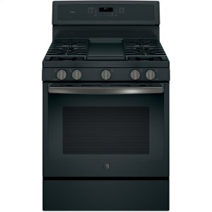"""GE ProfileSeries 30"""" Free-Standing Gas Convection Range"""