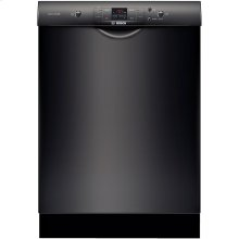 "24"" Recessed Handle Dishwasher 300 Series- Black"