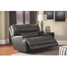 McCaskill Wide Seat Recliner, Grey