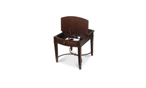 Intrigue Flip Top End Table