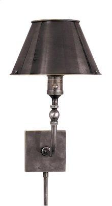 Visual Comfort S2650BZ-BZ Studio Swivel Head 10 inch 60 watt Bronze Task Wall Light