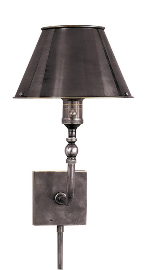 Visual Comfort S2650BZ-BZ Studio Swivel Head 10 inch 60 watt Bronze Task Wall Light