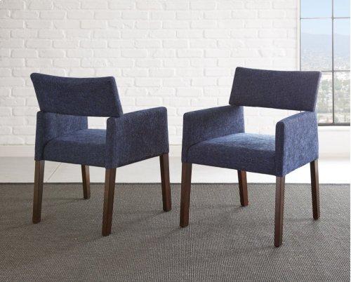 "Amalie Side Chair, Black 25""x24""x33"""