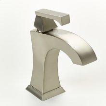 Single Lever Lavatory Faucet Leyden Series 14 Satin Nickel