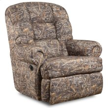 Big & Tall 350 lb. Capacity Camouflaged Encore Conceal Brown Fabric Recliner