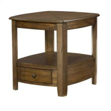 Primo Rectangular Drawer End Table