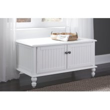Blanket Chest in Beach White