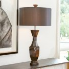 Crystal Urn Lamp-Black-French Wired Product Image