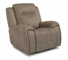 Solo Power Gliding Recliner with Power Headrest