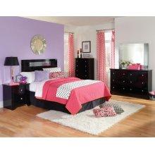 Standard Furniture 67300 Marilyn Black Panel  Bedroom set Houston Texas USA Aztec Furniture