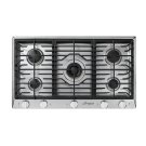"Heritage 36"" Professional Gas Cooktop, Liquid Propane Product Image"