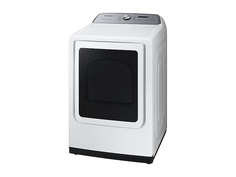 DVE50R5400WSamsung DV5400 7 4 cu  ft  Electric Dryer with