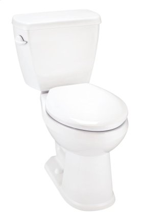 """White Avalanche® 1.28 Gpf 12"""" Rough-in Two-piece Elongated Ergoheight Toilet"""