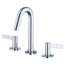 Chrome Amalfi Two Handle Widespread Lavatory Faucet