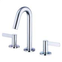 Chrome Amalfi Two Handle Widespread Lavatory Faucet