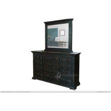 Terra Black Dresser & Mirror