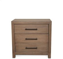 Mirabelle Three Drawer Nightstand Ecru finish
