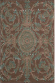 Moda Mod05 Mocha Rectangle Rug 3'6'' X 5'6''