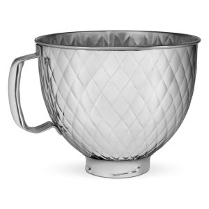 Kitchenaid5 Quart Tilt Head Quilted Stainless Steel Bowl