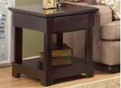 Hudson Valley End Table With Drawer With Shelf