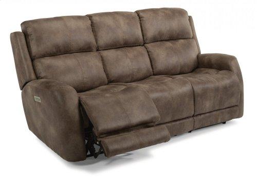 Zelda Fabric Power Reclining Sofa with Power Headrests