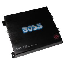 "Riot 1600W Monoblock, Class A/B Amplifier Dimensions 12.34""L 10.44""W 2.25""H"