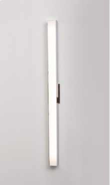 """LED AXIS 36"""" LINEAR SCONCE - BRUSHED NICKEL"""